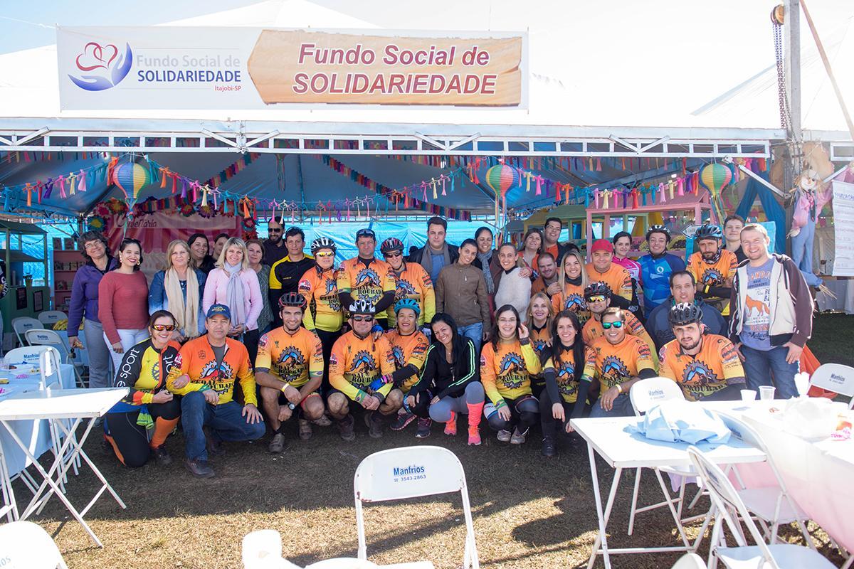 Café da Manhã Solidário durante o 27º Juninão de Itajobi
